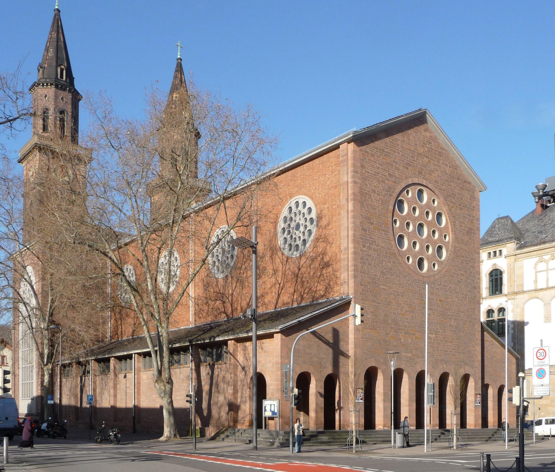 Liste der Kulturdenkmäler in Ludwigshafen-Südliche Innenstadt