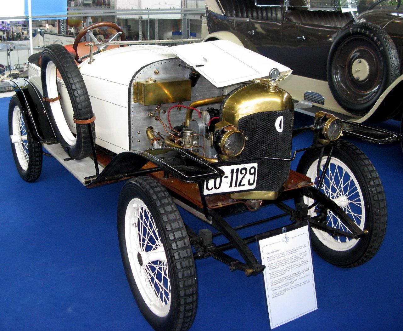 Kleinauto und motorenwerke koch co for Koch automobile