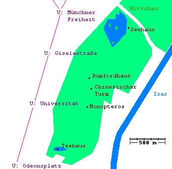 Rundgang durch den Englischen Garten in München? (Deutschland, Englischer Garten)