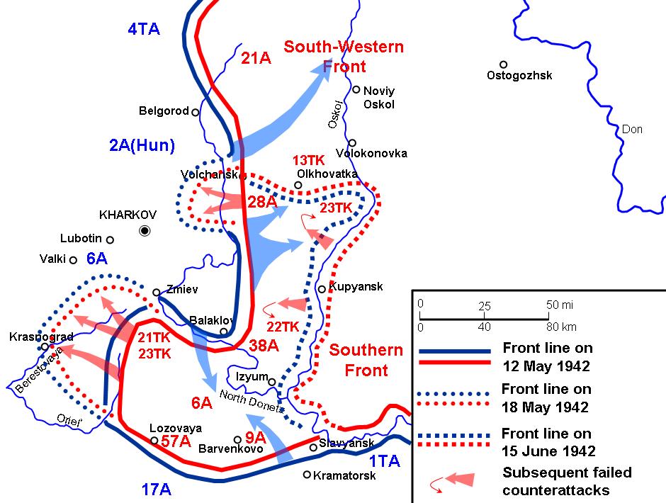 Charkow Karte