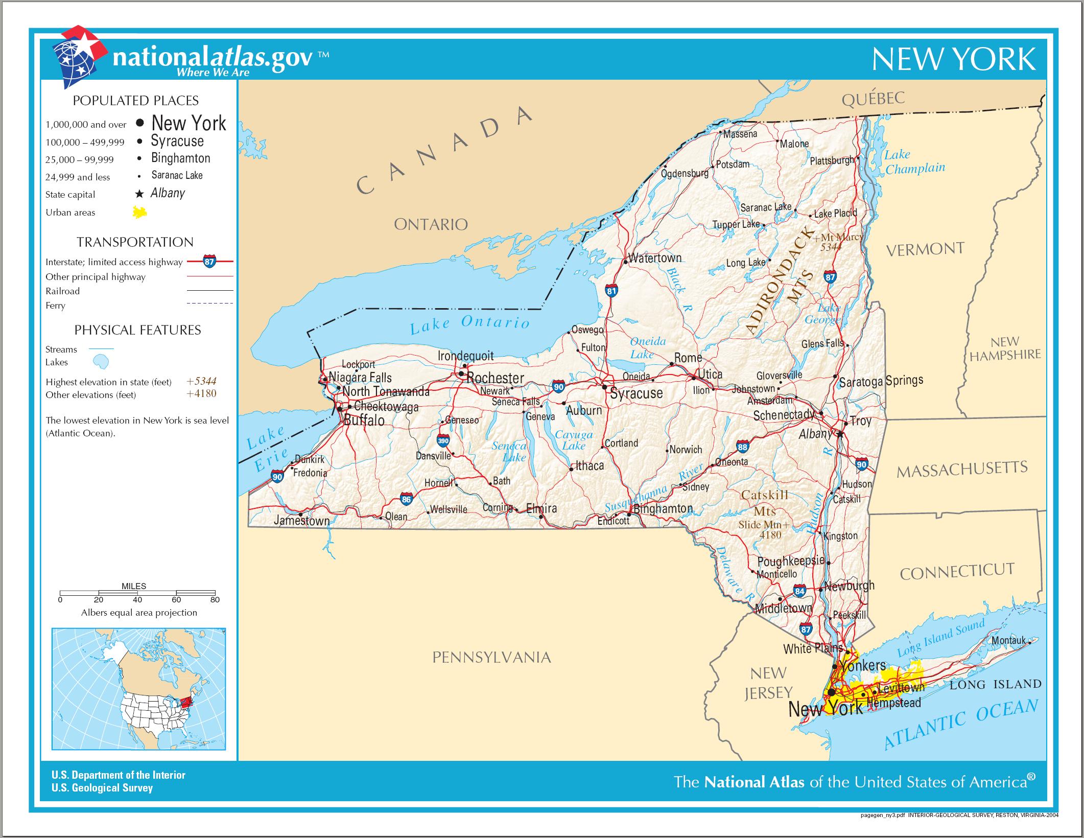 New york bundesstaat
