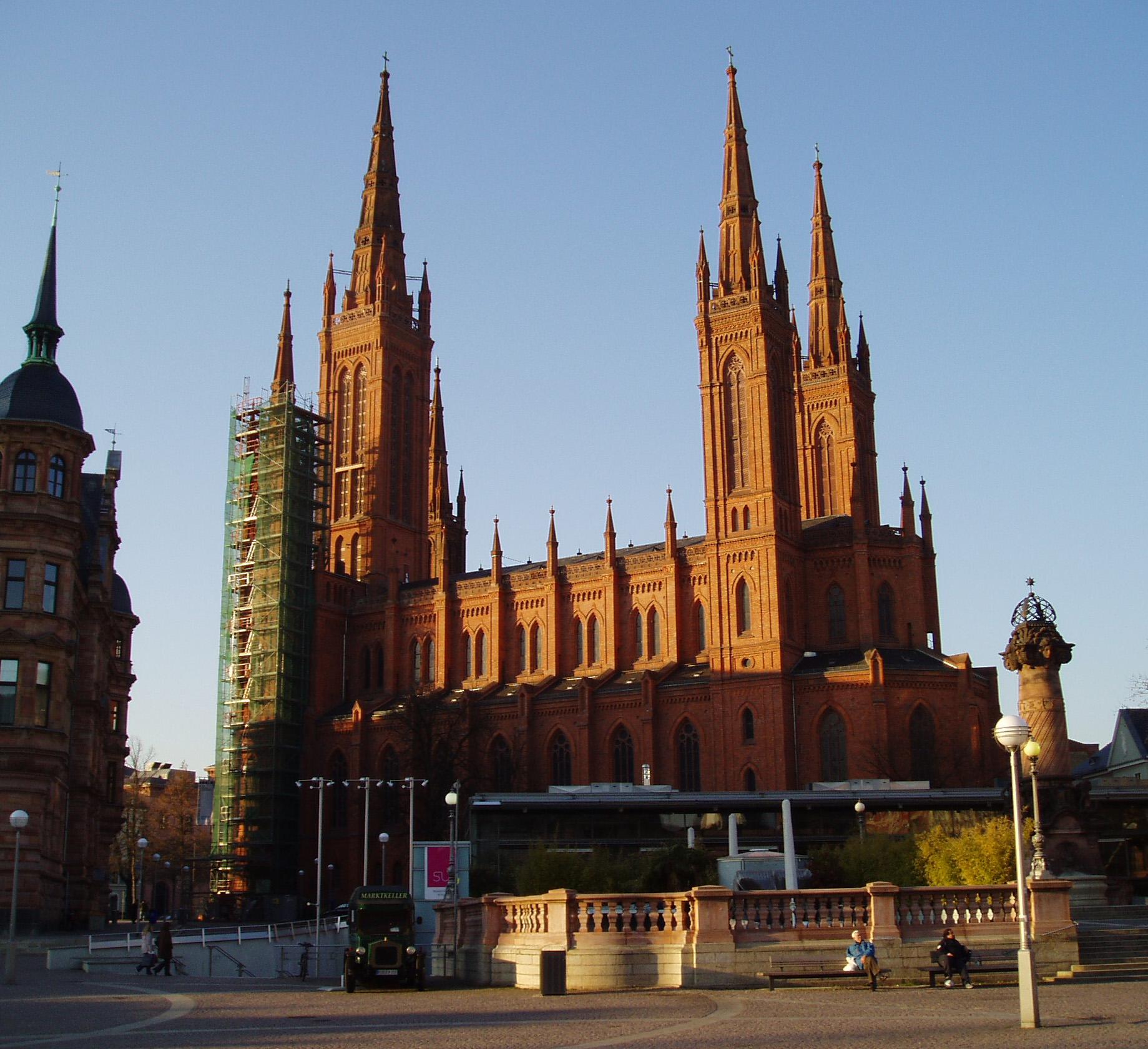 Liste Der Sehenswurdigkeiten Von Wiesbaden