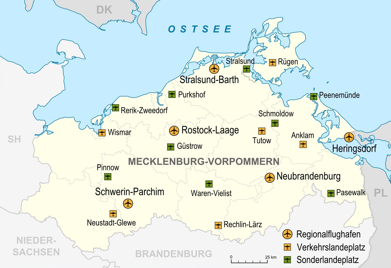 Mecklenburg Vorpommern Grenze