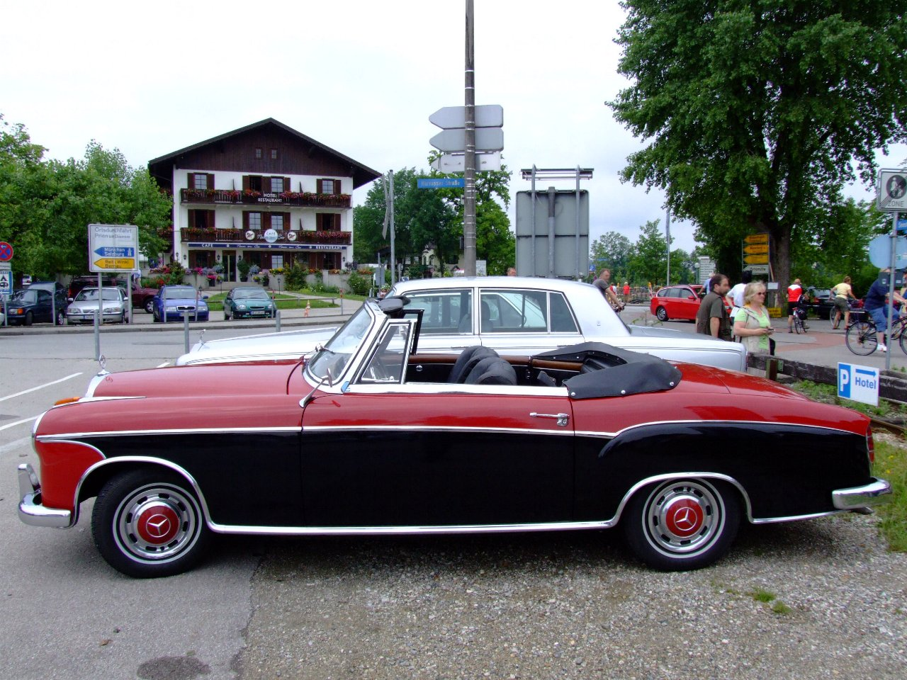 mercedes 220 se 1965
