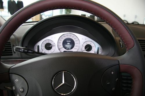 Mercedes benz w211 for Cdi interior design
