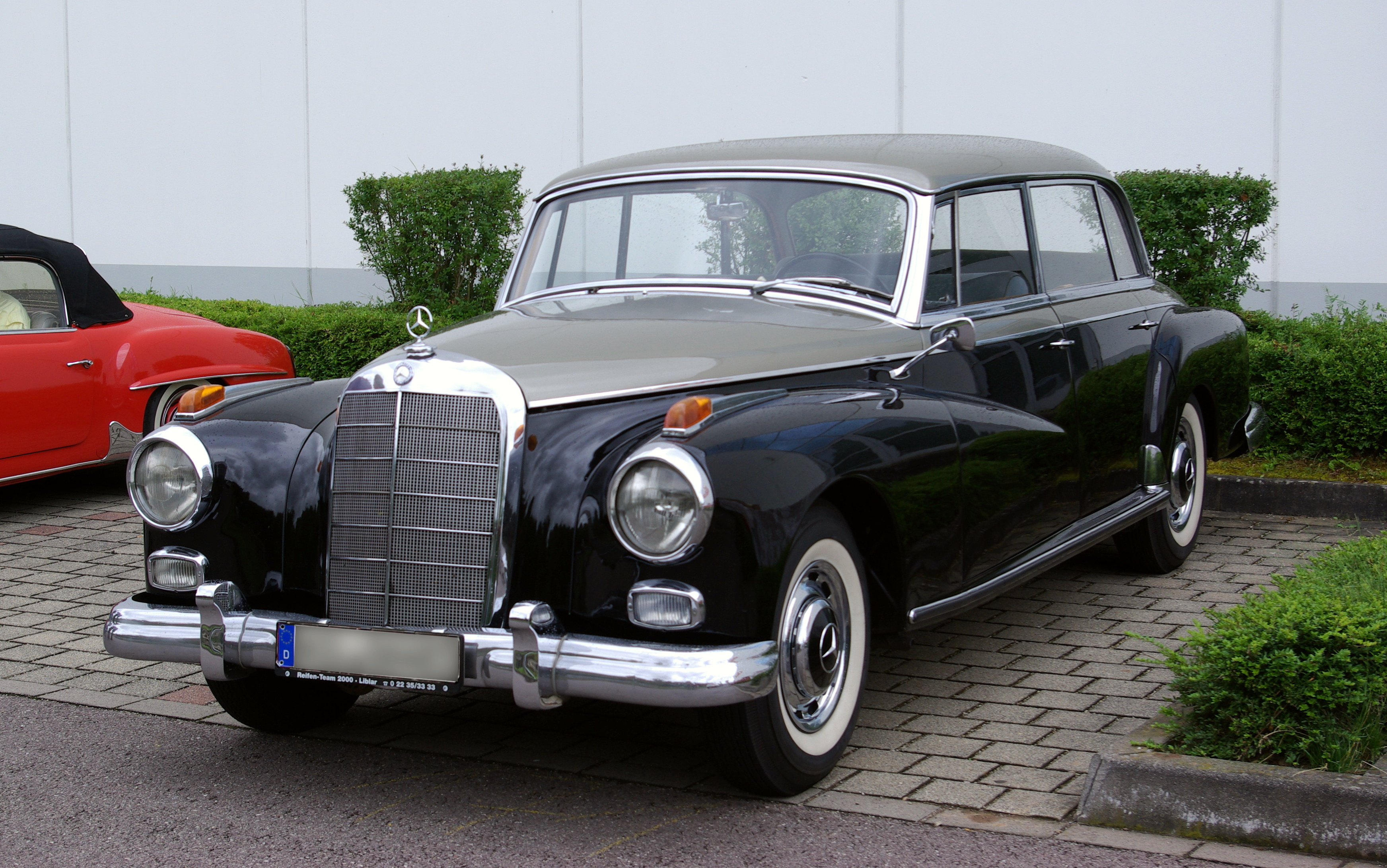 Mercedes benz w 186 w 189 for Mercedes benz 300s