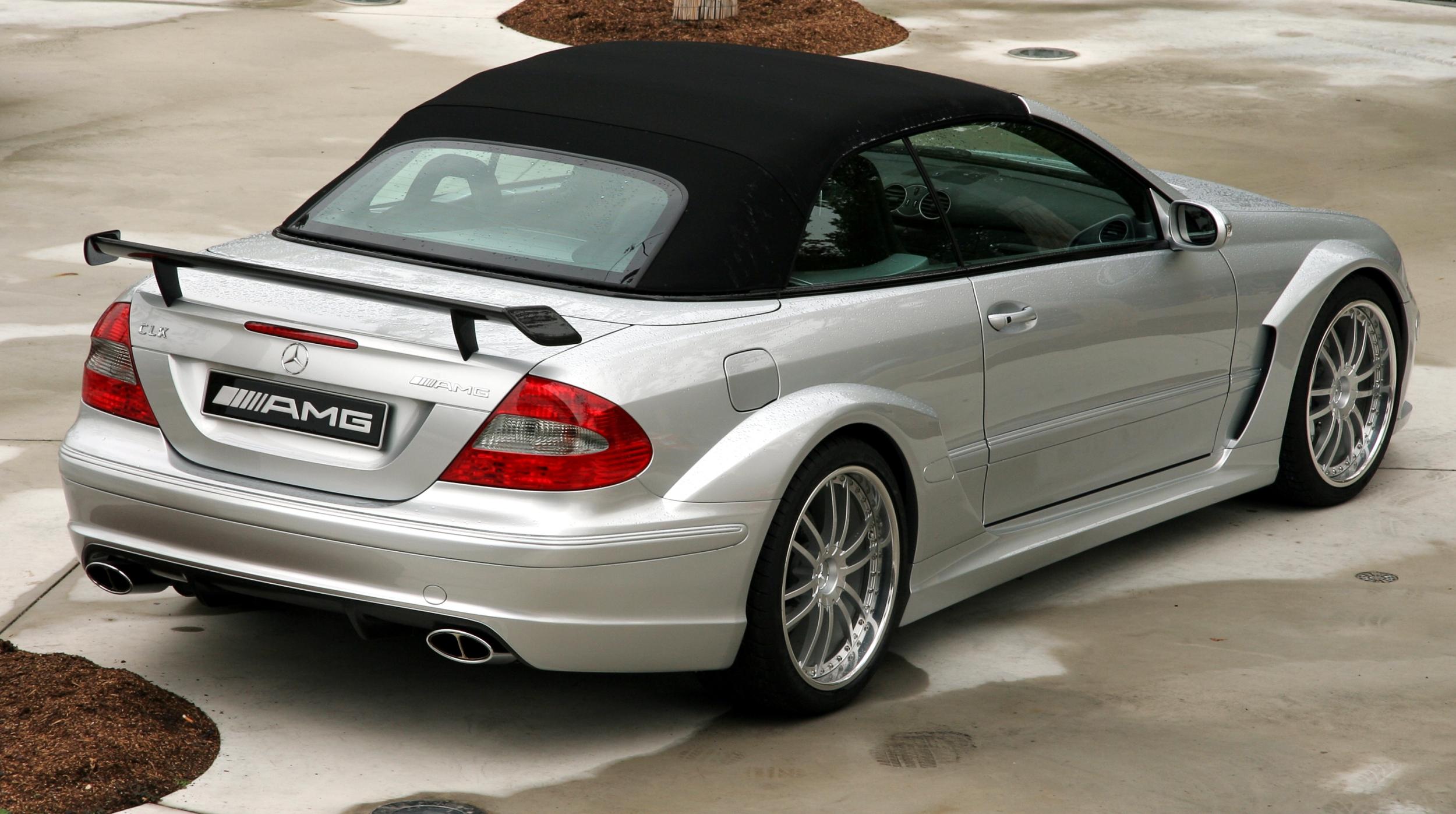 Mercedes Benz Clk Black Edition For Sale