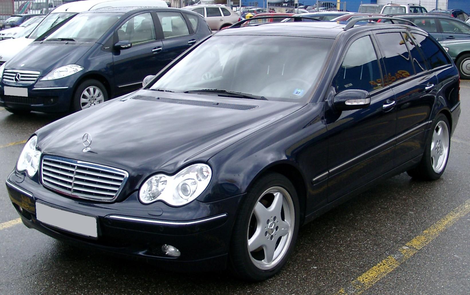 Alte Mercedes C Klasse Combi