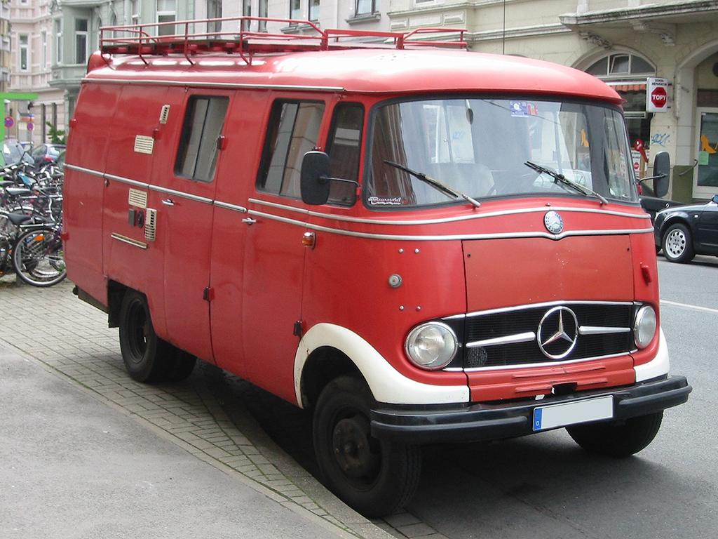 Furgoneta Mercedes Benz Clasica