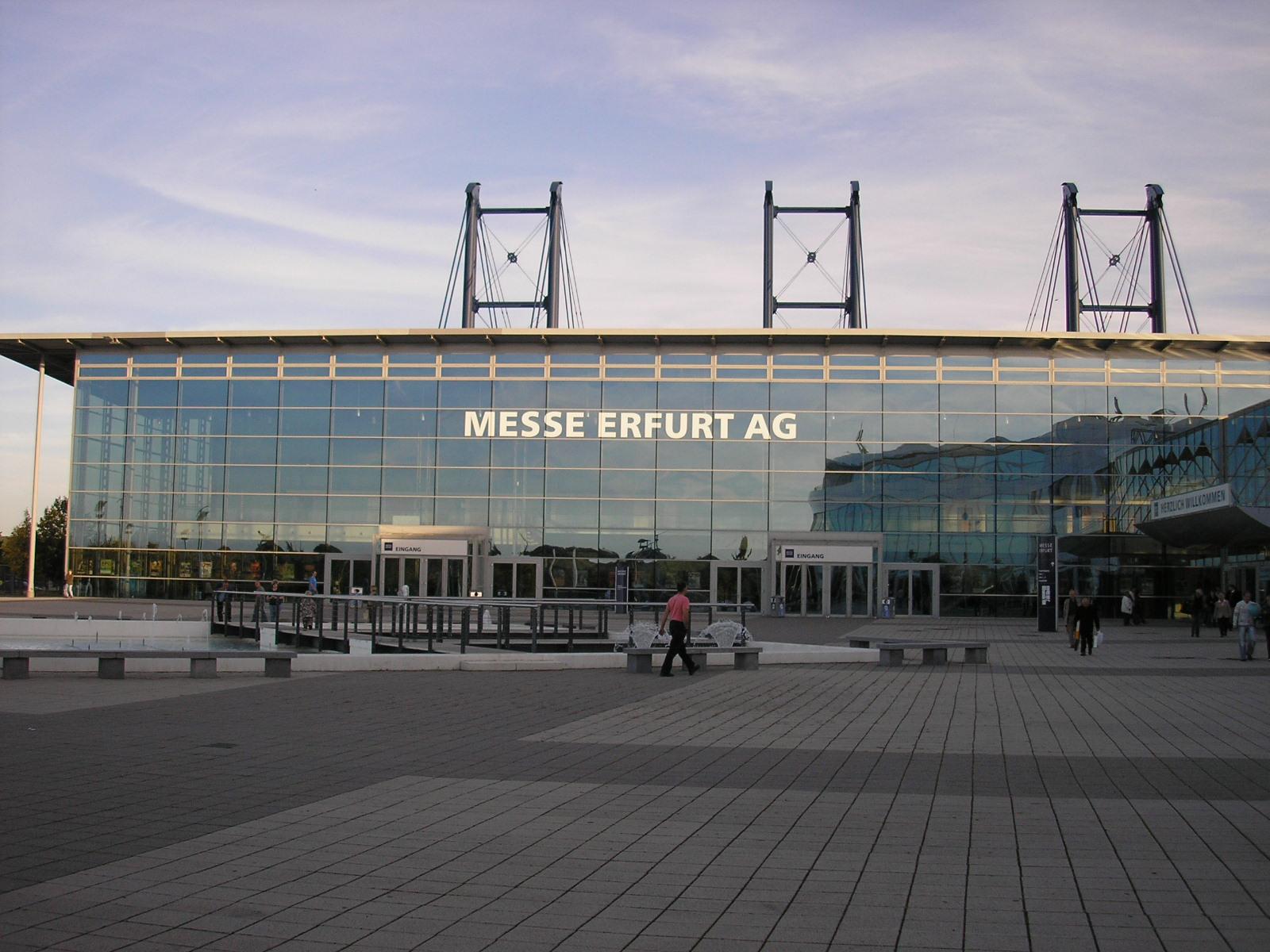 Messe Erfurt Parken
