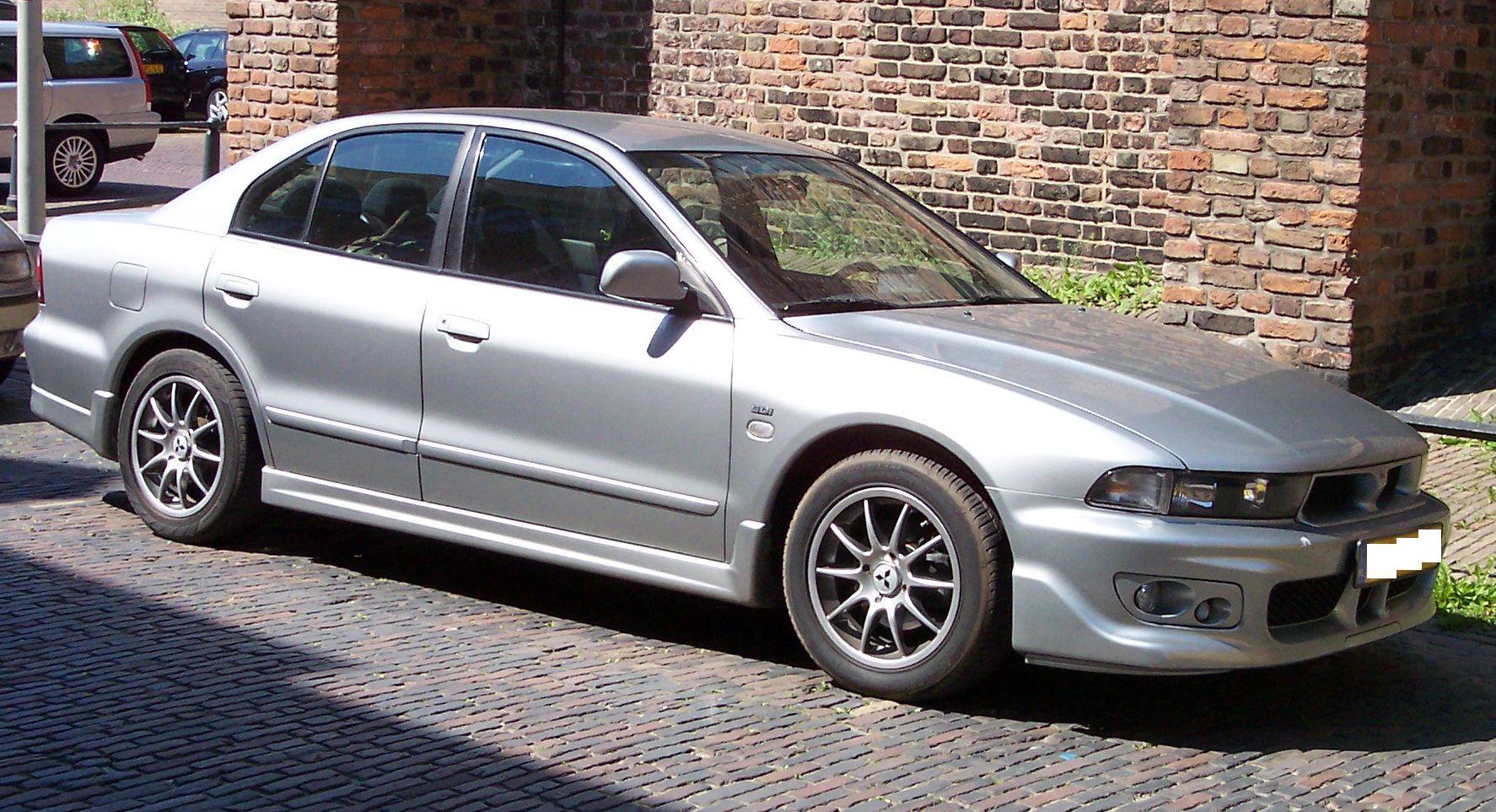 Auto motor und sport testwertungen - Heckansicht Der Galant Limousine Mitsubishi Galant Kombi 1996 2006
