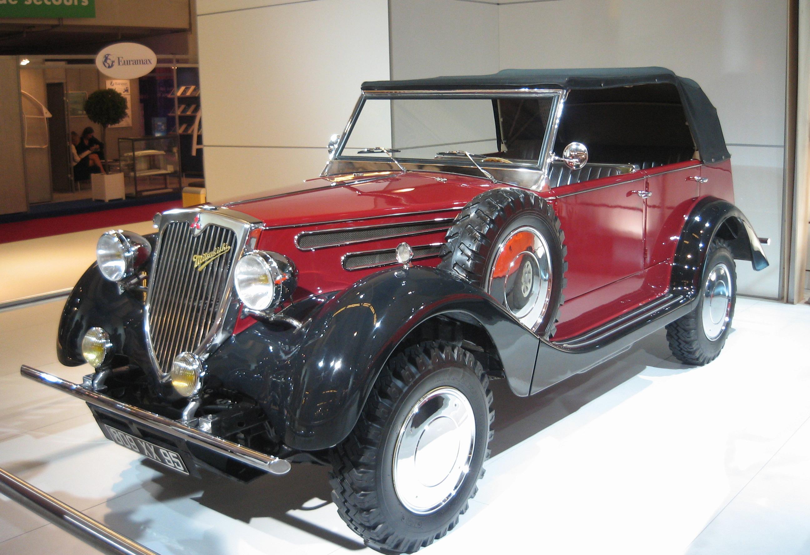 Der Mitsubishi PX33 von 1934