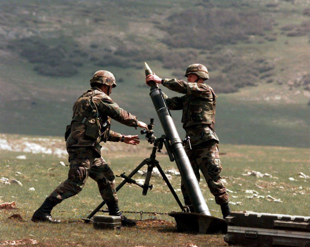Mortar Fire Control System : Mörser geschütz