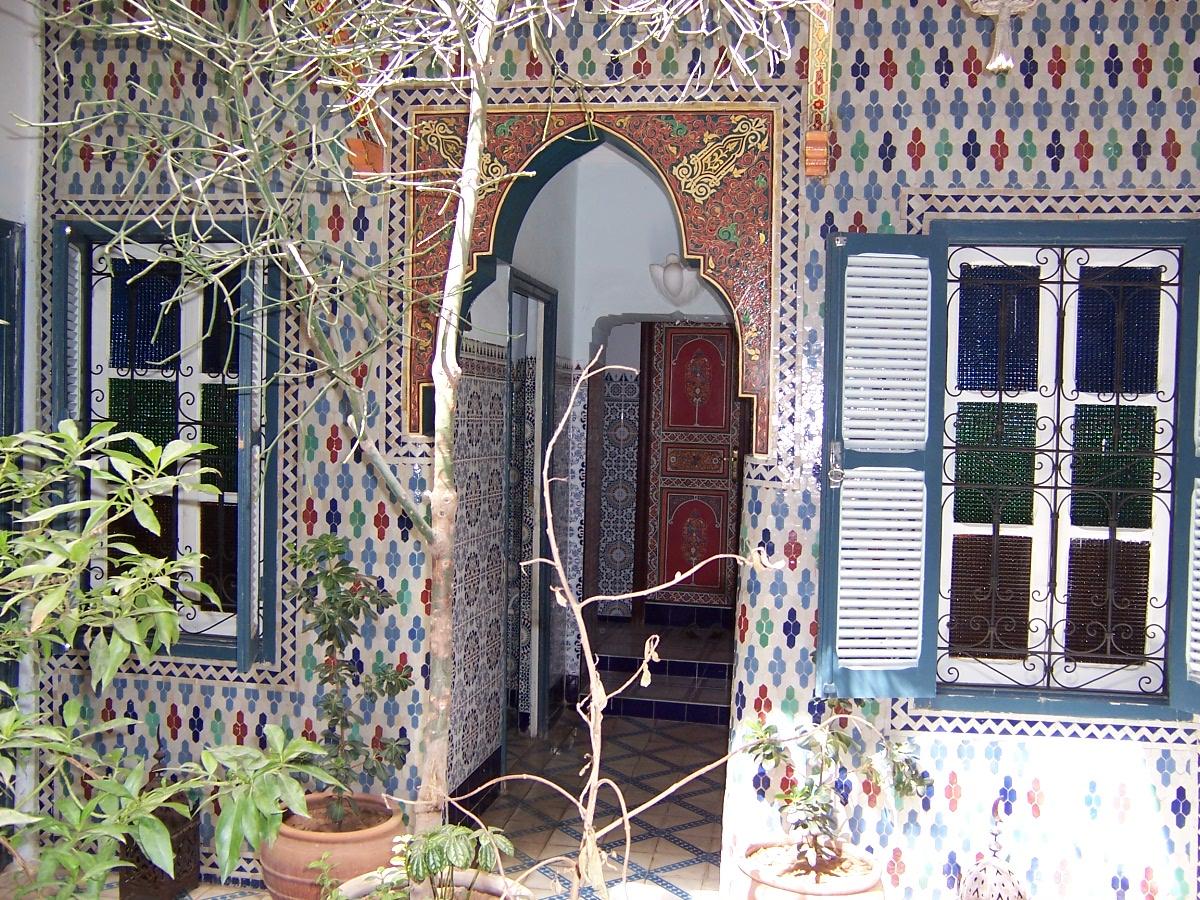 Marrakesch - Orientalische fliesen ...