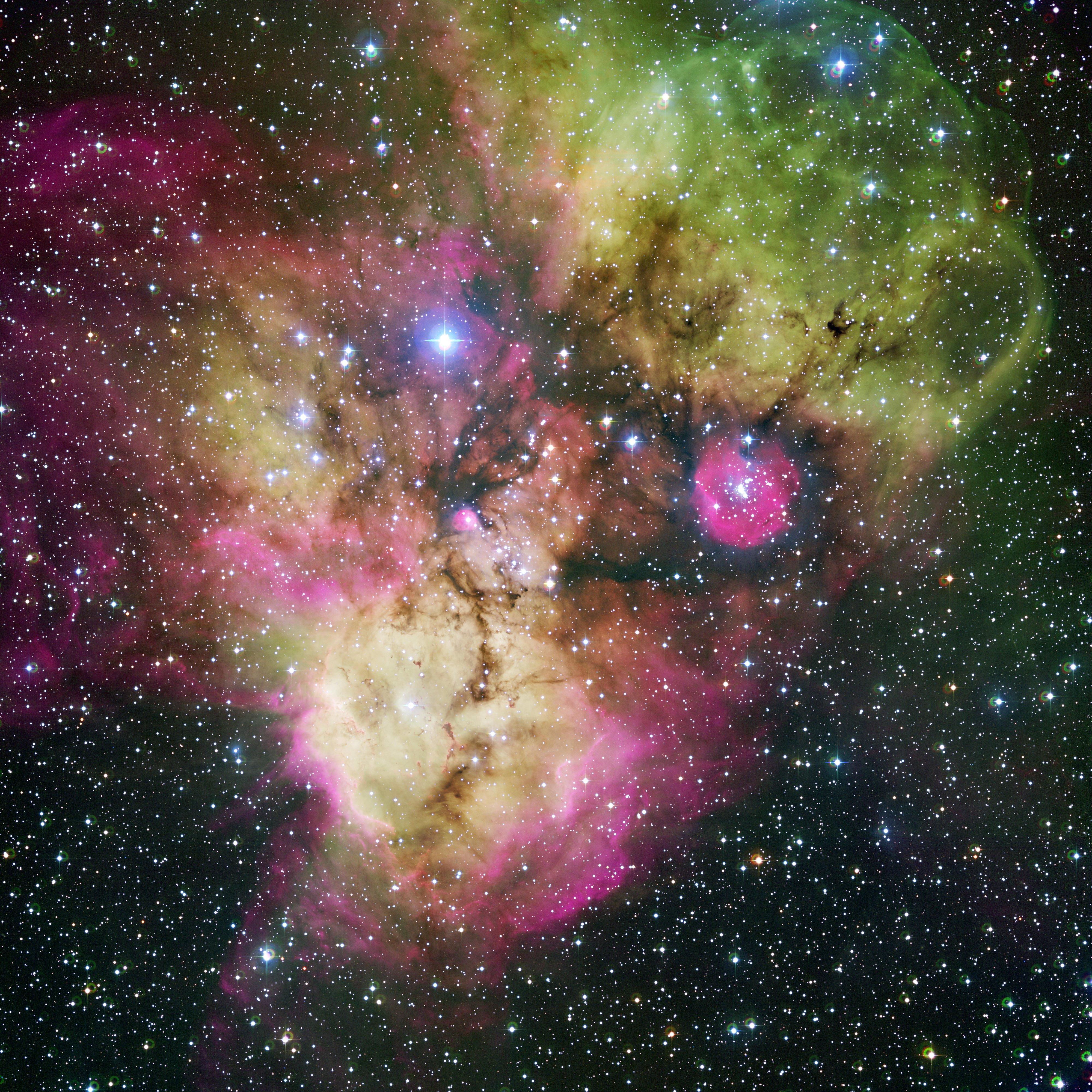 Квантовый резонанс в человеческих снах. NGC_2467