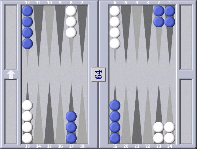 backgammon startposition