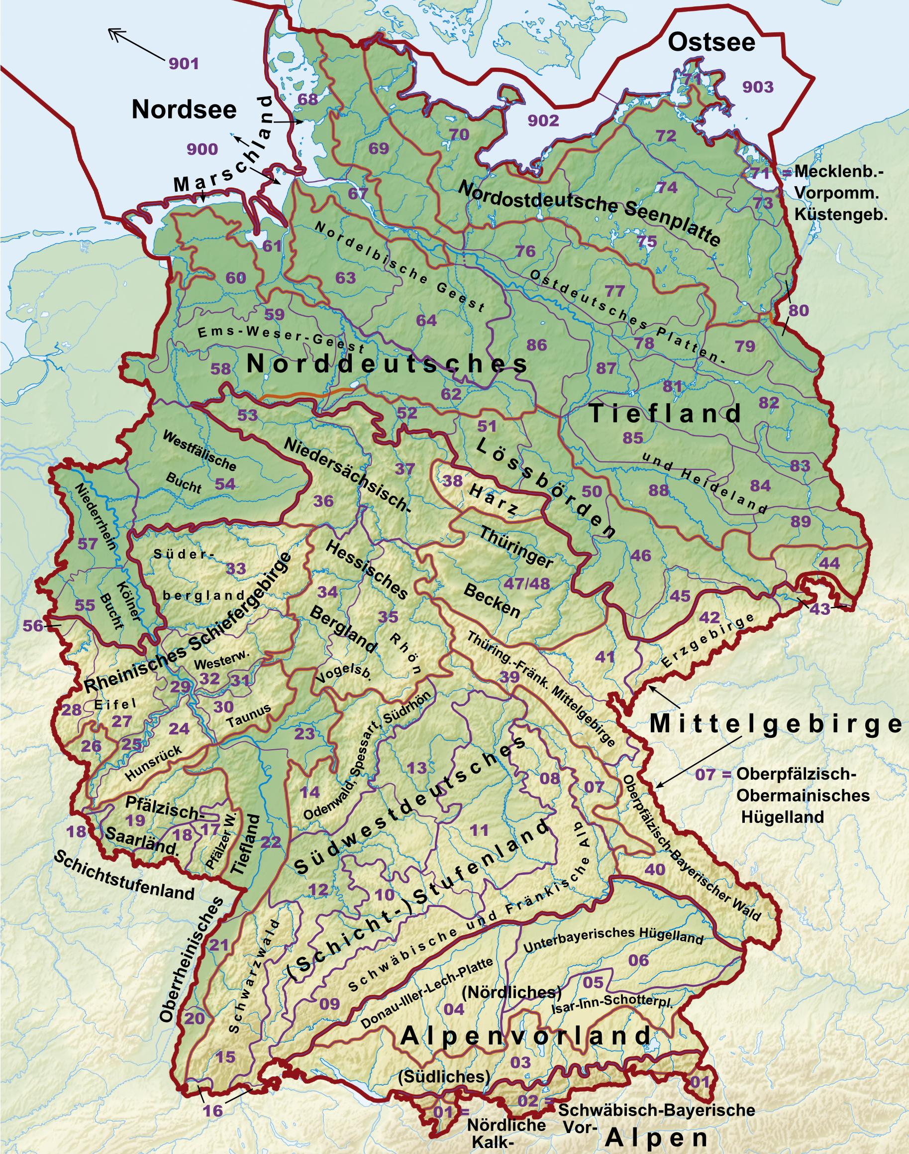 Börden Deutschland