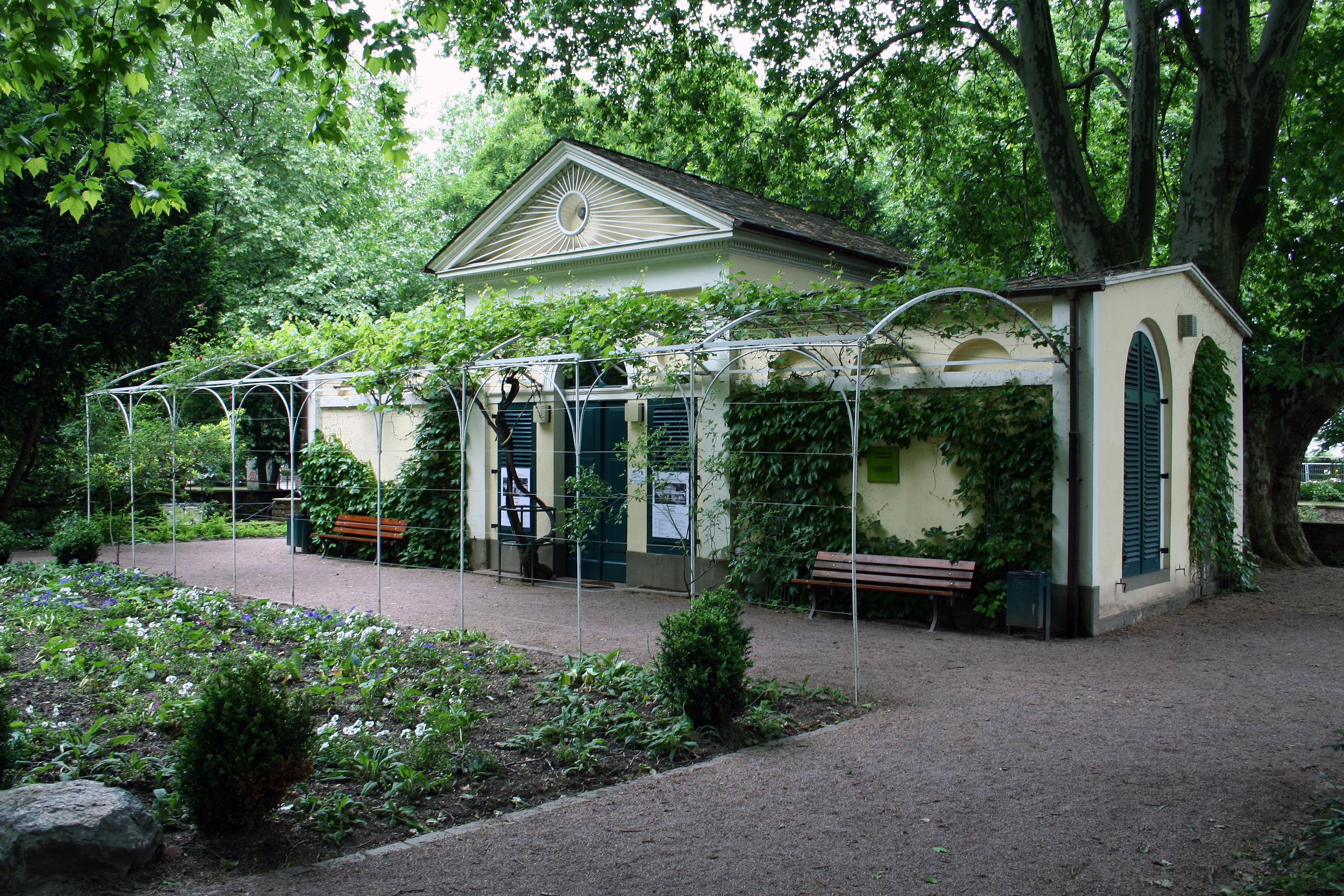 Nebbiensches gartenhaus - Gartenhaus frankfurt ...