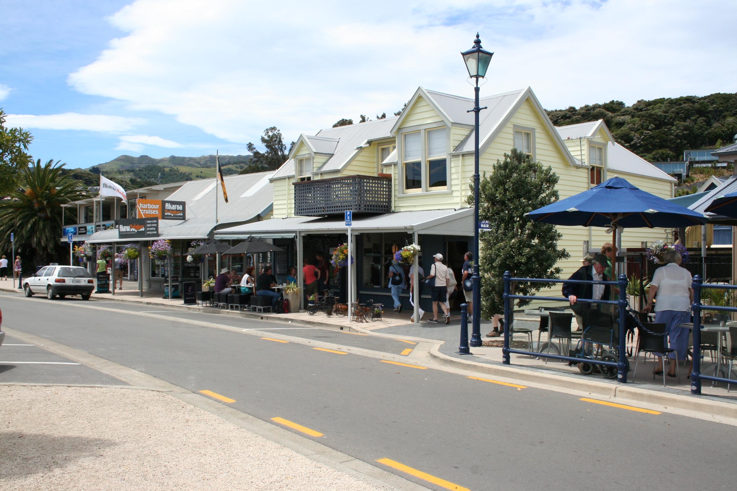 Akaroa New Zealand  city images : akaroa harbour bilder die bucht von akaroa von fern und nah eine ...