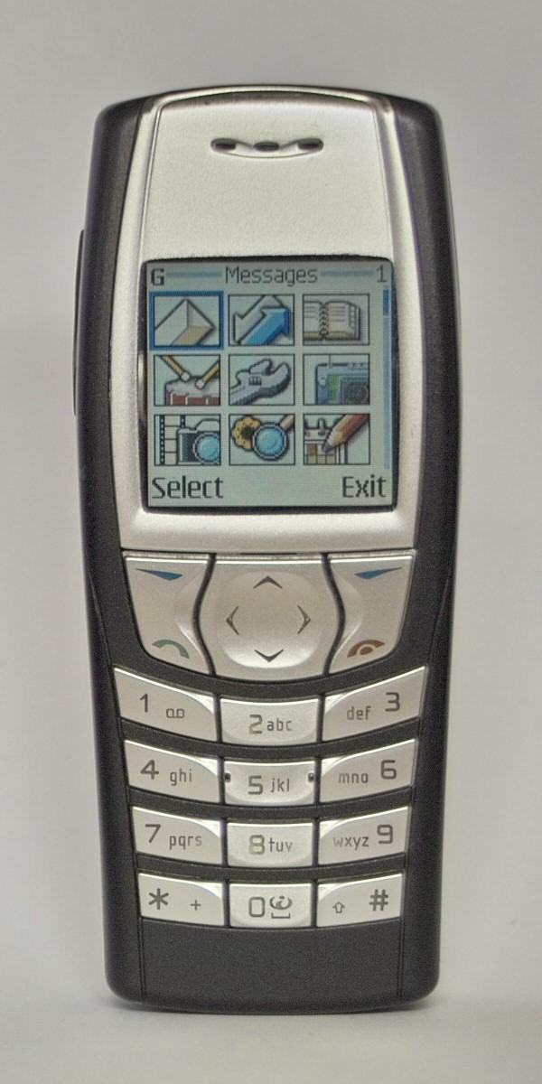 Nokia 6610 retro review (old ringtones, themes & game [bounce.