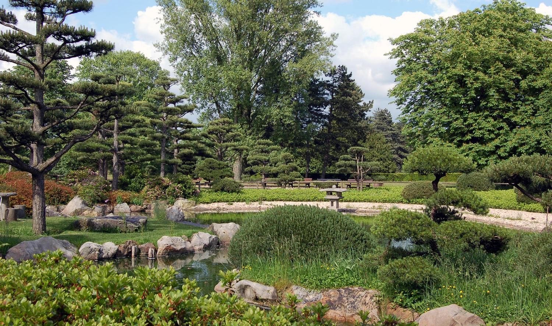 Nordpark d sseldorf for Japanischer garten