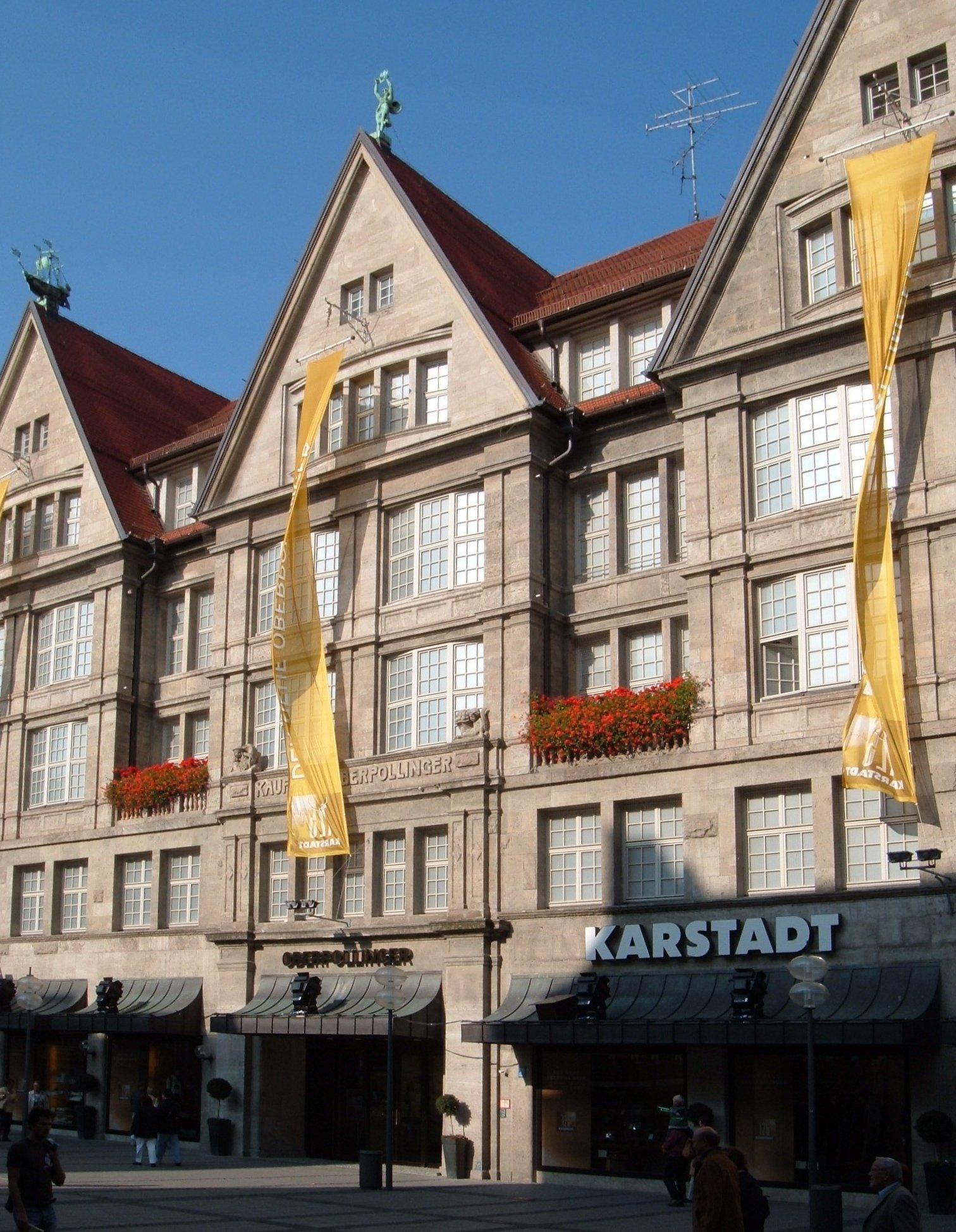Karstadt frankfurt zeil das ehemalige flaggschiff von hertie
