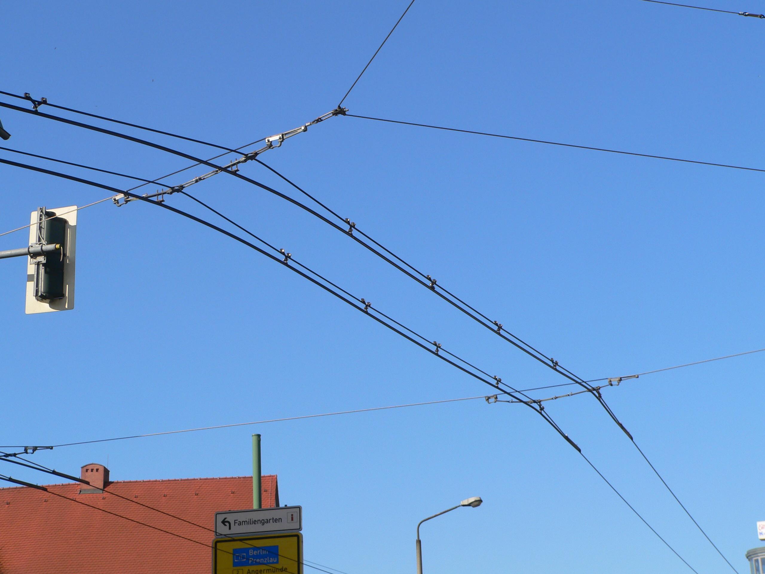 Схемы контактной сети жд