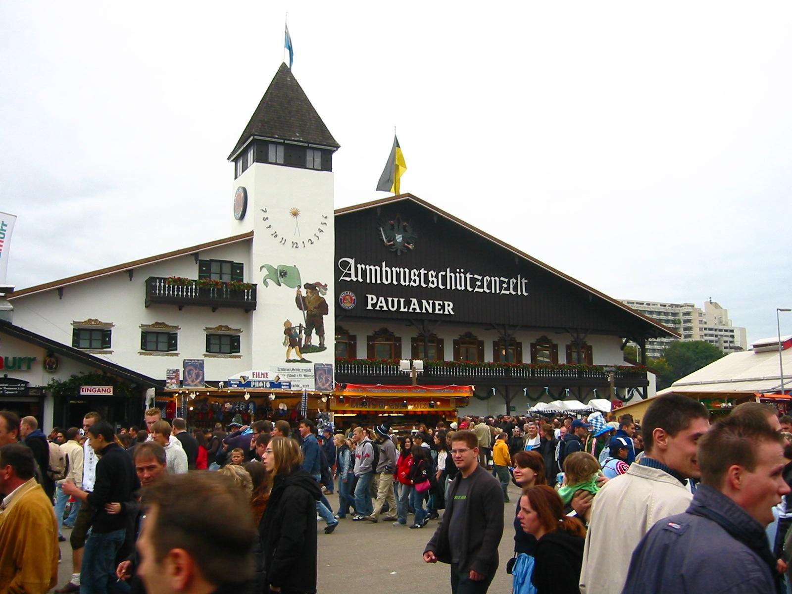 de article Zelte große Zelte Hofbräu Festzelt
