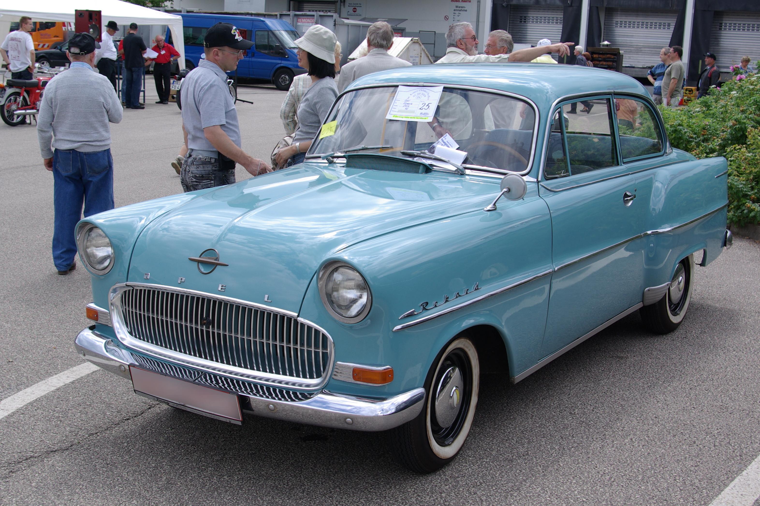 1960 opel rekord