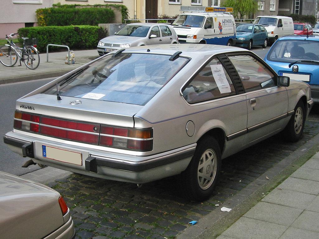 Opel Monza A2 (1983–1986)