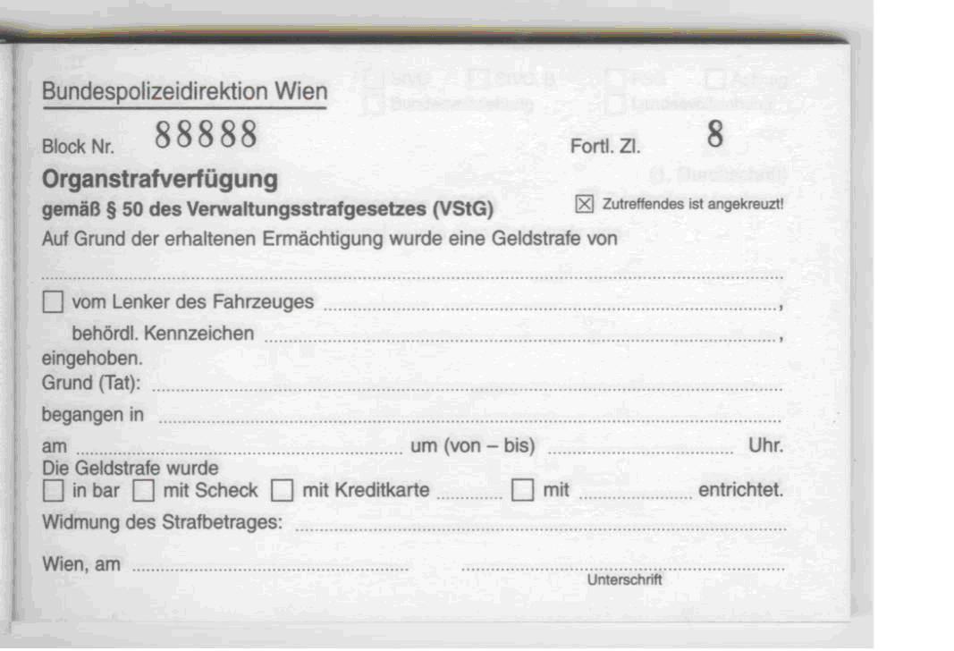 Strafzettel österreich