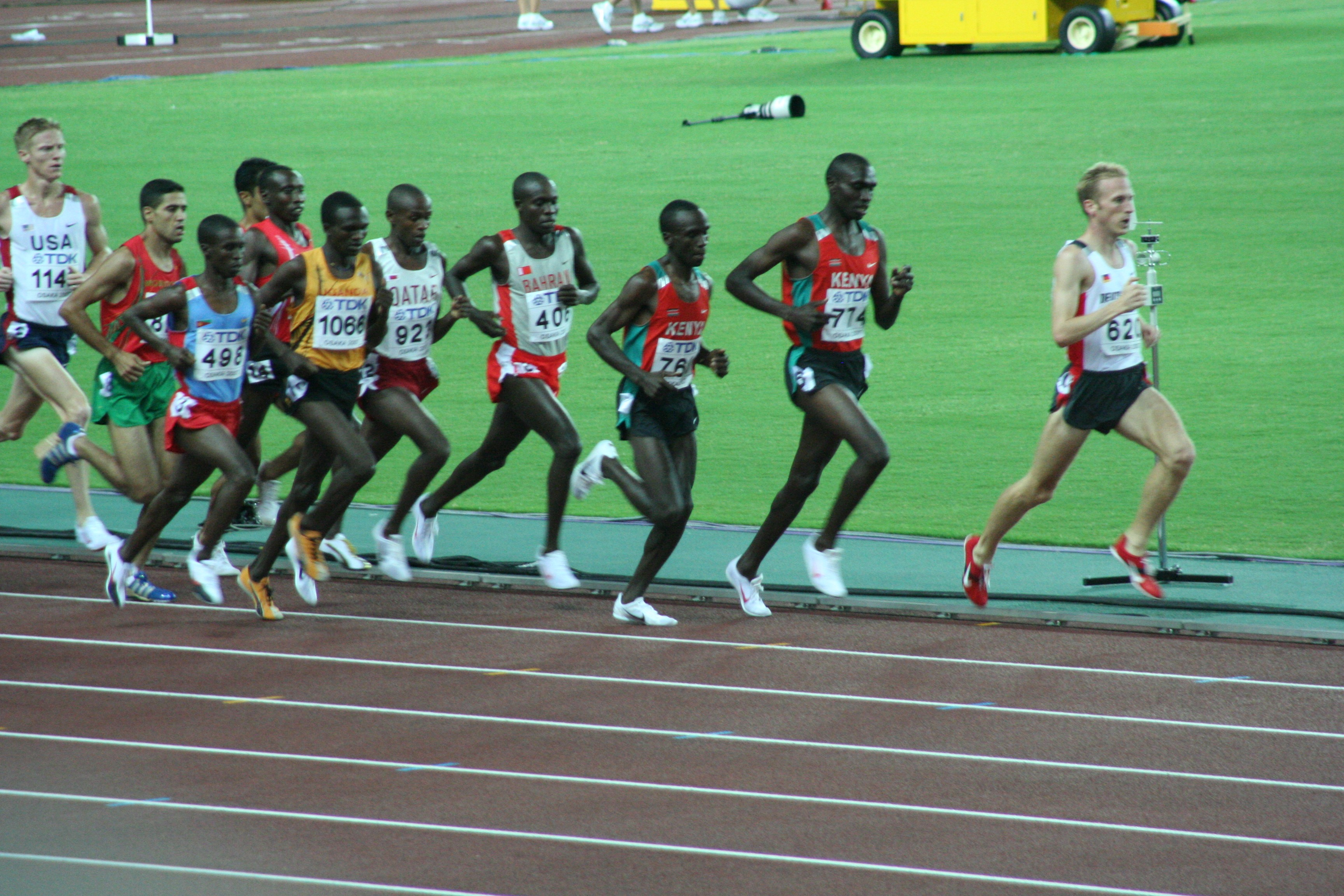 5000 M Lauf Zeiten
