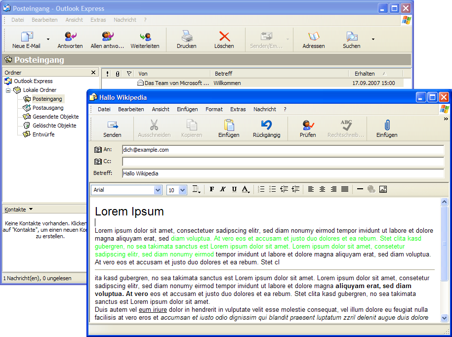 how to download and install outlook express for free
