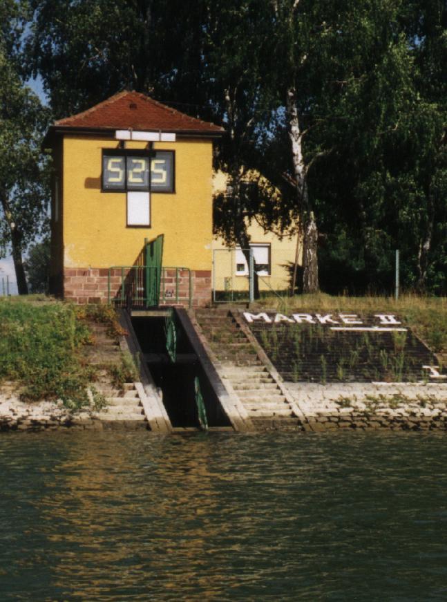 Hochwasser Pegel Plittersdorf