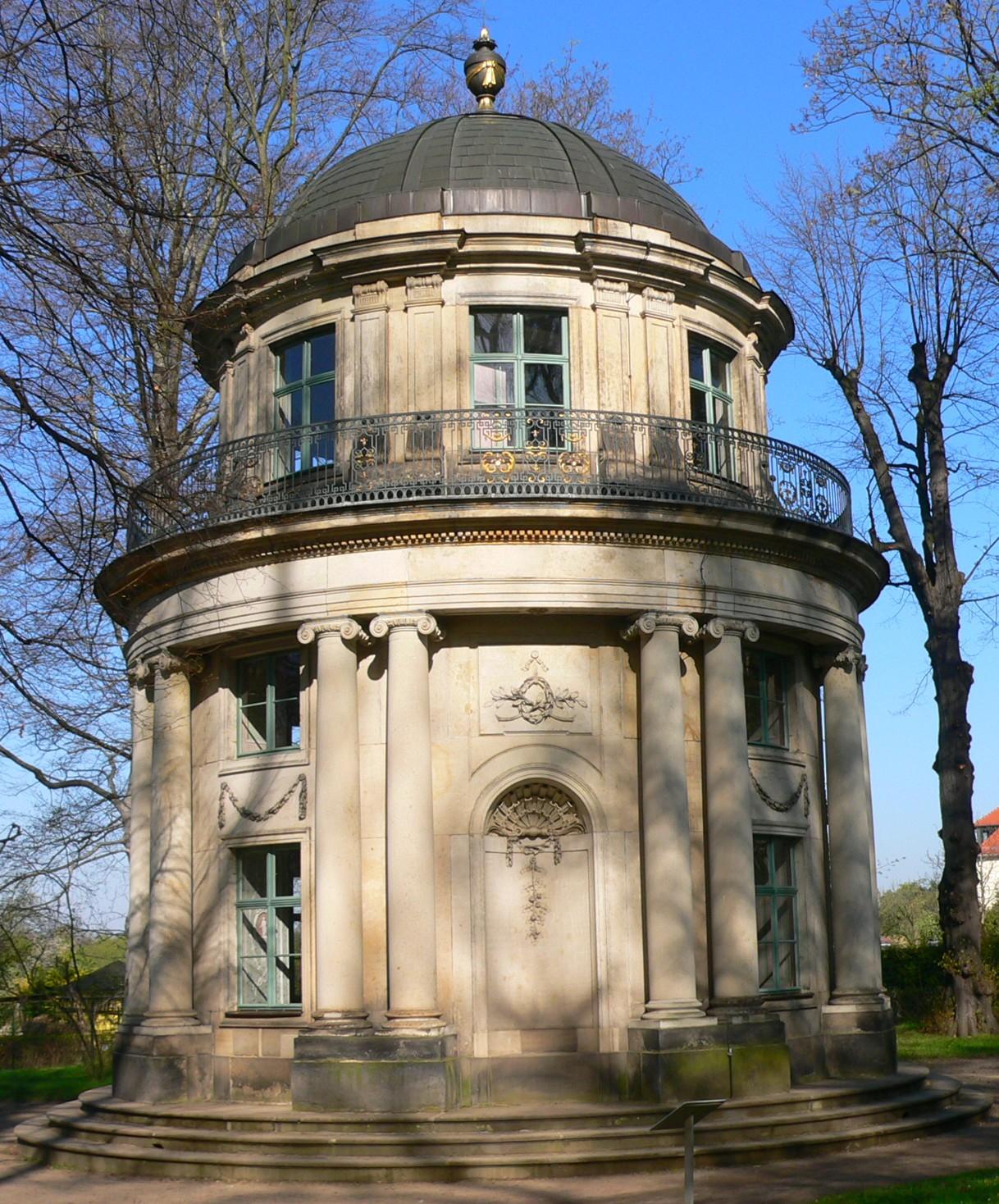 Englischer Garten Teehaus: Schloss Pillnitz