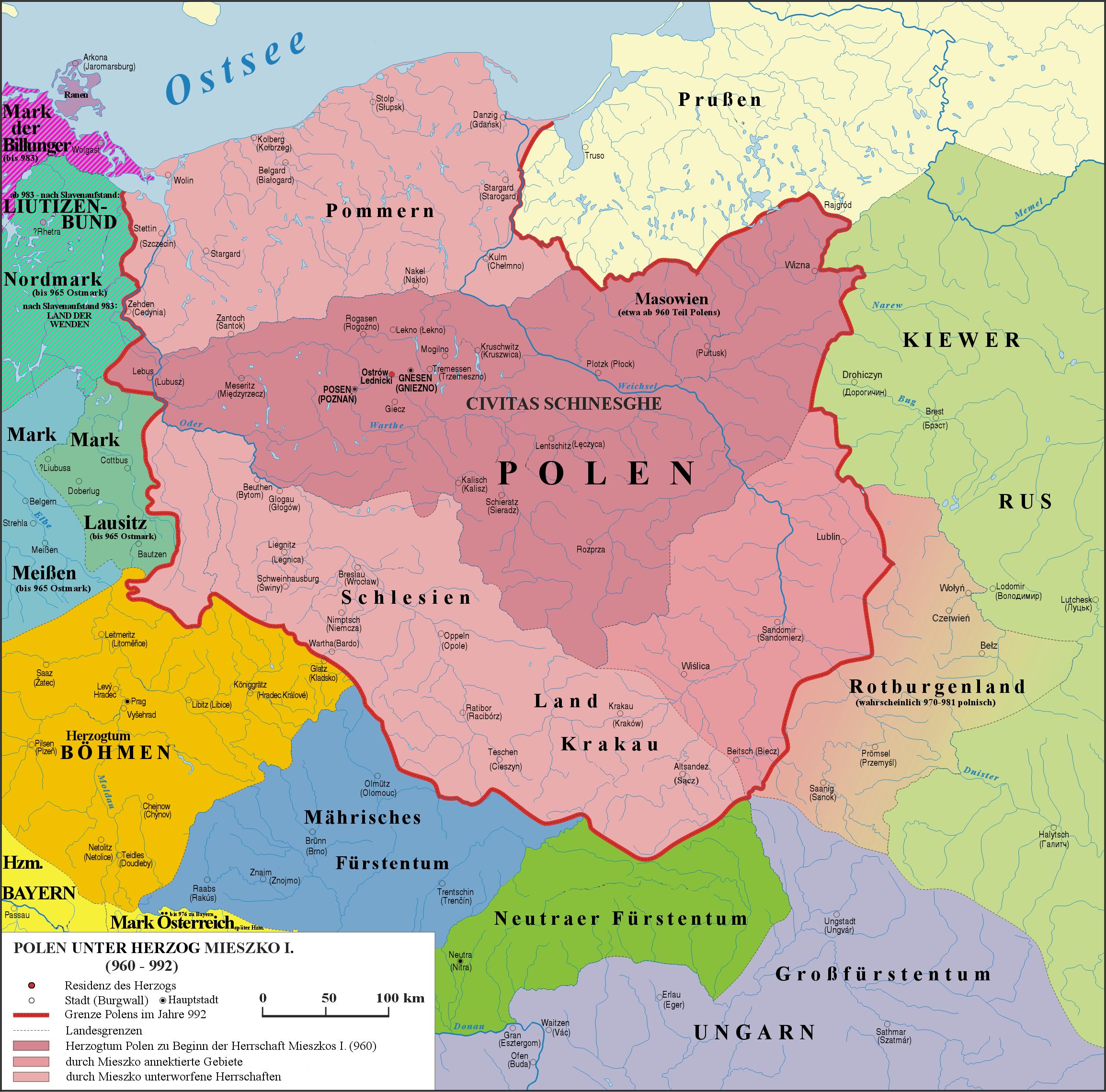 Geschichte Von Polen
