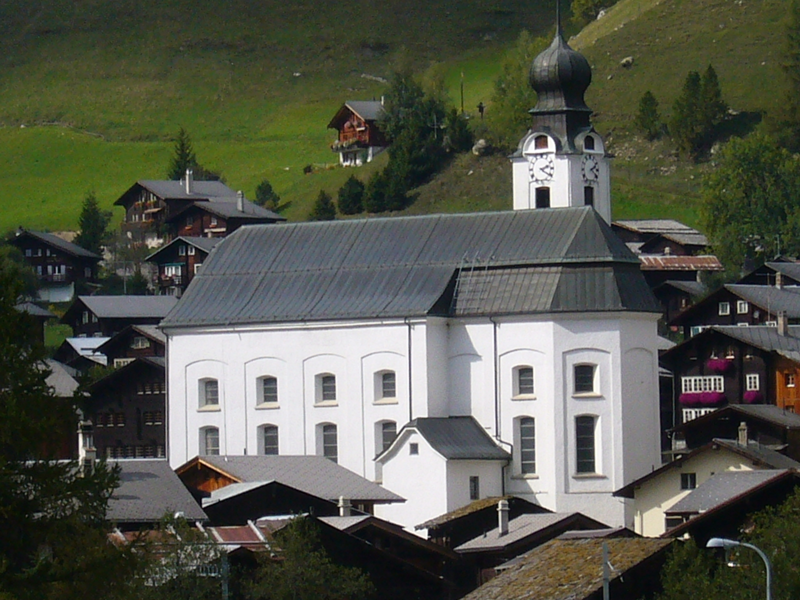 Reckingen Gluringen Switzerland  city photo : Pfarrkirche Geburt Mariens Reckingen VS