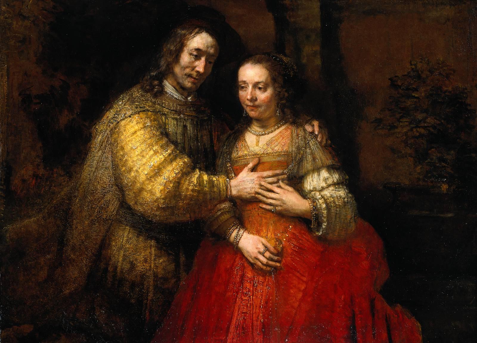 Rembrandt brautpaar 1665 69