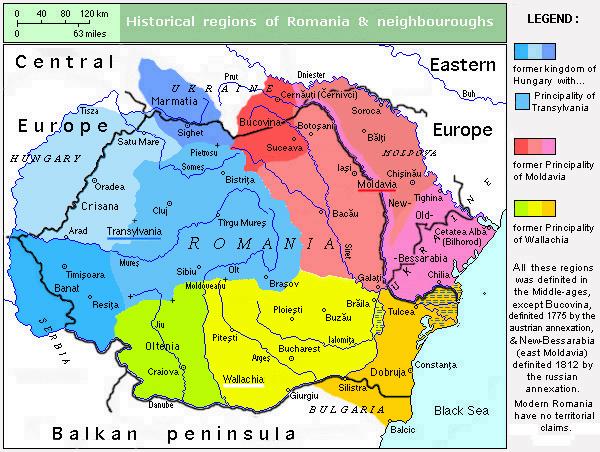 liste der historischen regionen in rum228nien und moldawien