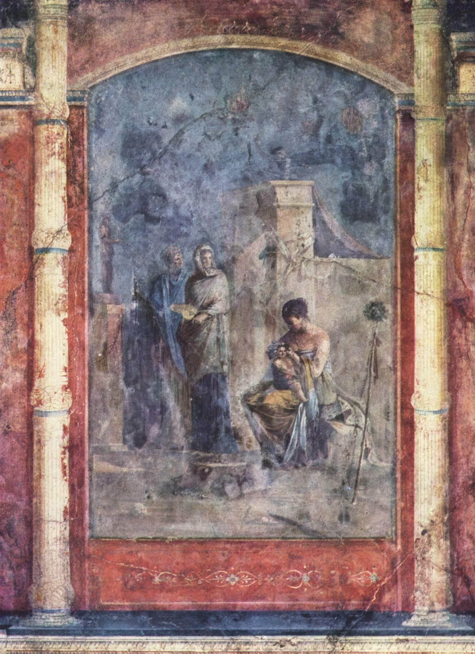 Villa Farnesina Pittura Romana
