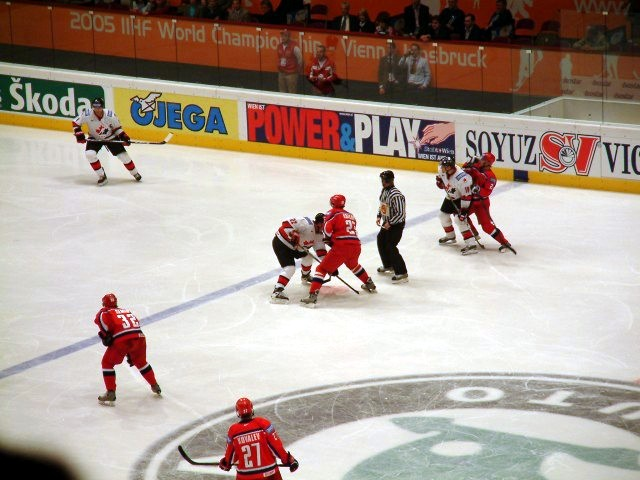 Russland Hockey