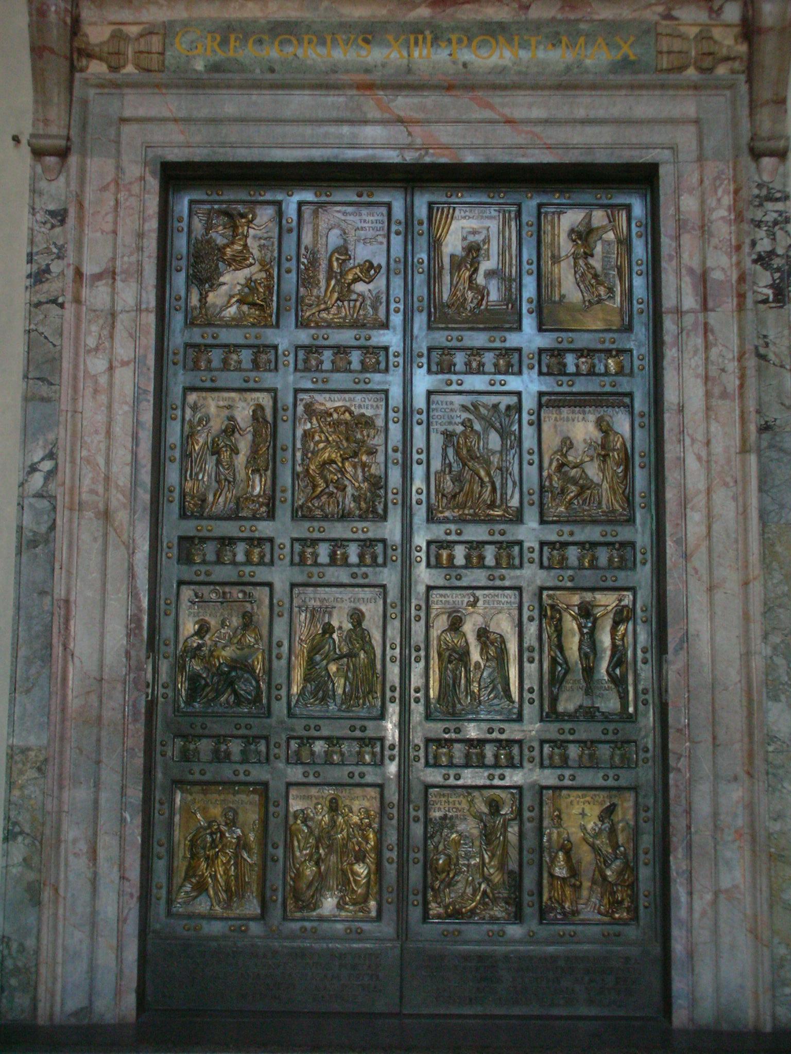 Heilige pforte - Immagini porta santa ...