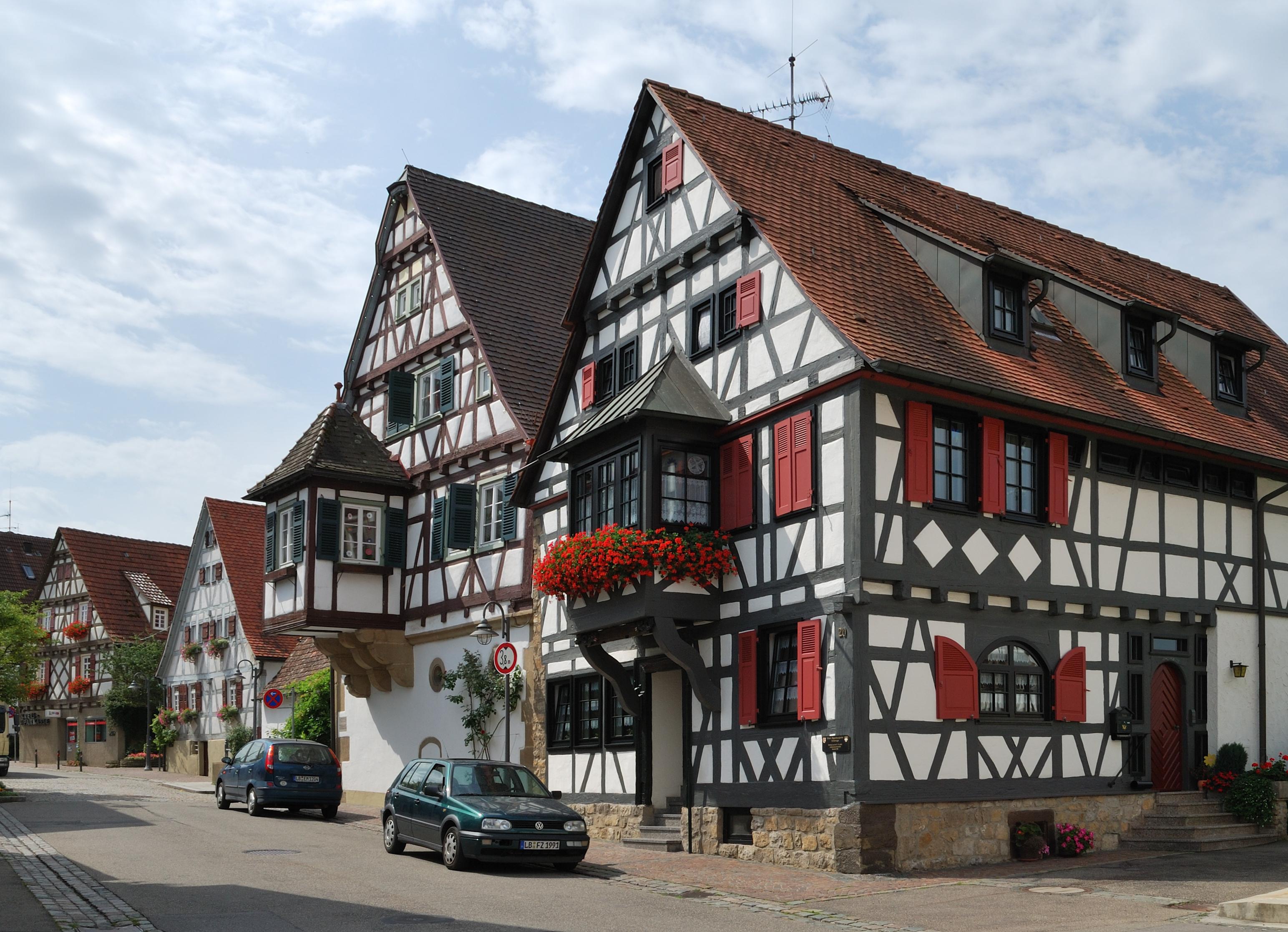 Немецкие дома фото