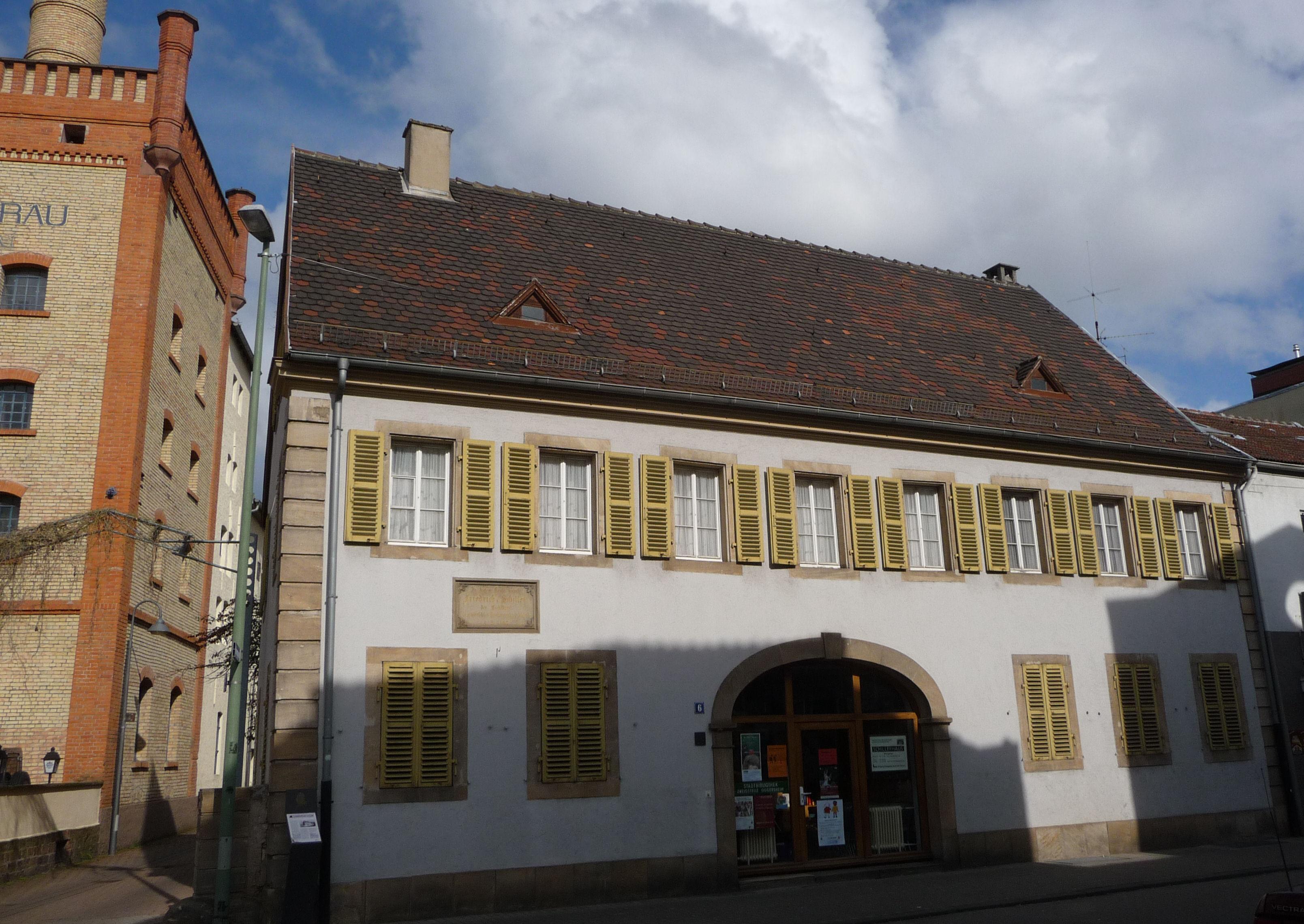 Liste der Kulturdenkmäler in LudwigshafenOggersheim