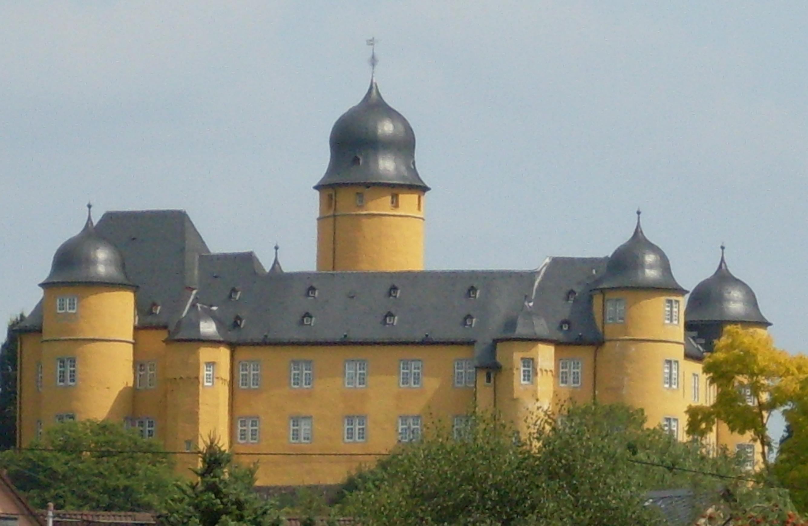 Liste der burgen und schl sser im westerwald Burg hachenburg