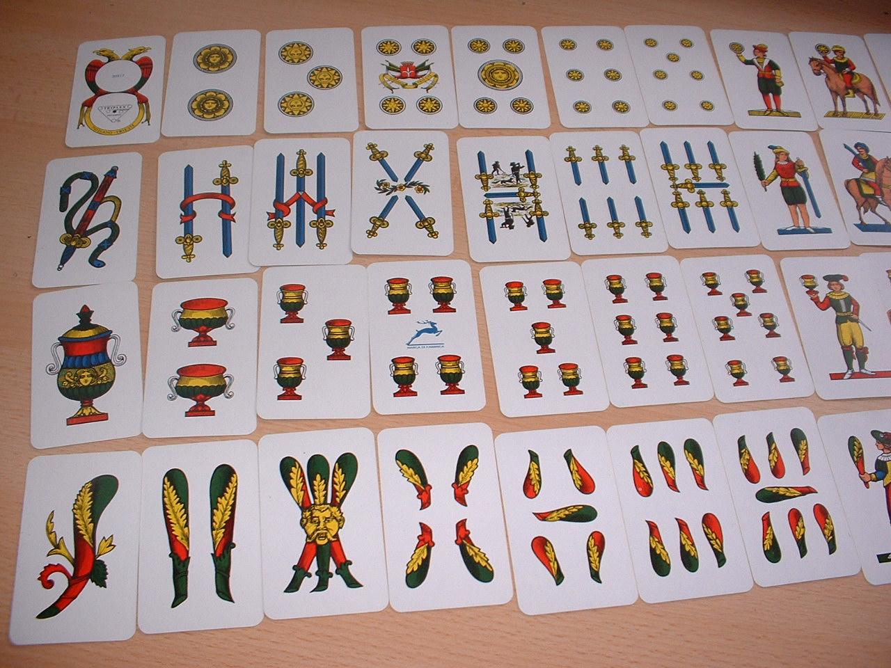 scopa kartenspiel