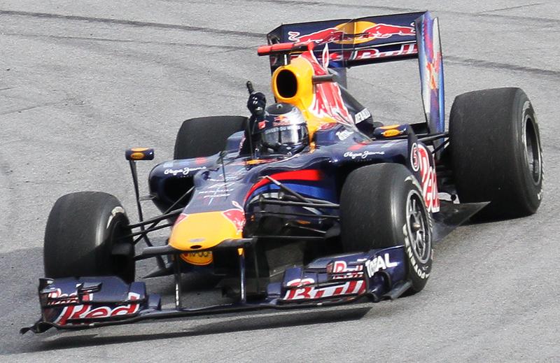 Sebastian Vettel won  Malaysian GP