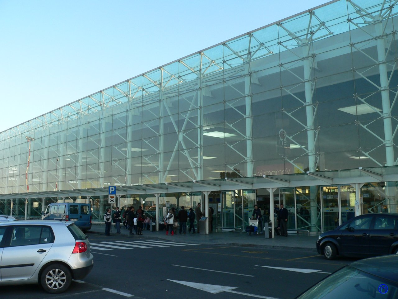 Catania Flughafen Ankunft