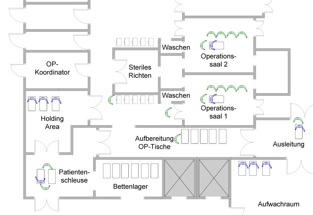 operationssaal. Black Bedroom Furniture Sets. Home Design Ideas