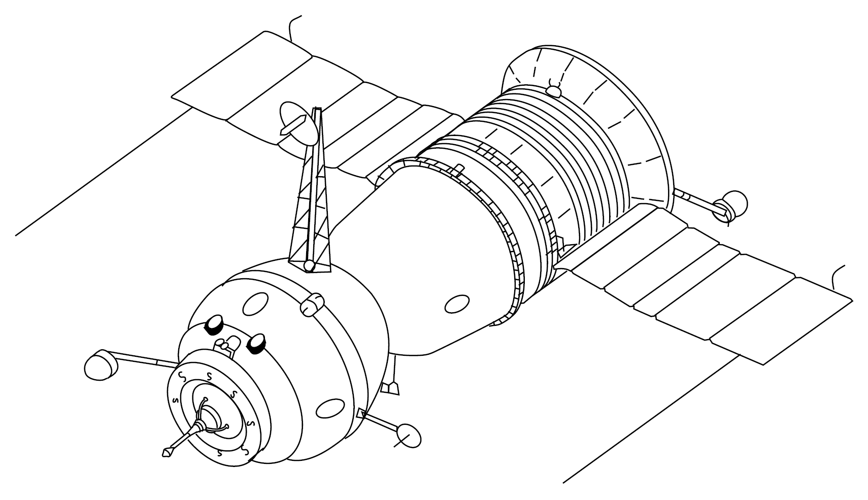 Drawing Space Probe with Wheels (page 2) - Pics about space